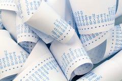 Arytmetyka pasek kalkulator zdjęcia stock