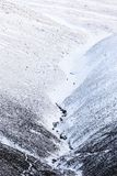 Arywiści pochodzi Cairngorm górę w Szkocja obrazy royalty free