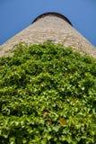Arywiści zasadzają na średniowieczny wierza w podwórzu Mar zdjęcia royalty free