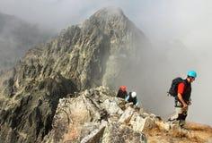 Arywiści w górach Obraz Royalty Free