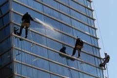 Arywistów washermen Windows Fotografia Stock