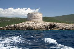 Arza Μαυροβούνιο Στοκ φωτογραφίες με δικαίωμα ελεύθερης χρήσης