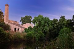 Arzachena. Mill of arzachena in  Sardinia Royalty Free Stock Images