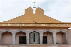 ARZACHENA, SARDINIA/ITALY - 20 MAGGIO: Santa Maria della Neve Temp Fotografia Stock Libera da Diritti