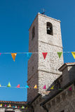 ARZACHENA, SARDINIA/ITALY - MAY 20 : Saint Anna Church in Arzach. Ena Sardinia on May 20, 2015 Stock Photo