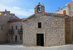 ARZACHENA, SARDINIA/ITALY - MAY 20 : Saint Anna Church in Arzach. Ena Sardinia on May 20, 2015 Royalty Free Stock Photo