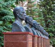 ARZAMAS, RUSSIA, April 9 2017: Monuments to war veterans. royalty free stock photos