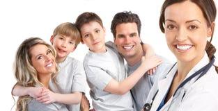Arzt der Familie lizenzfreie stockfotos