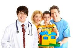 Arzt der Familie lizenzfreie stockfotografie