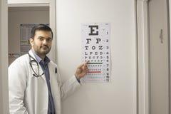 Arztzeigen stockfotos