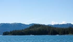 As águas do príncipe William Sound de Alaska Fotografia de Stock Royalty Free