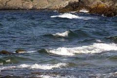 As águas tormentosos do Mar Negro imagem de stock royalty free