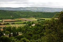 Opinião da paisagem de Provence imagem de stock