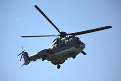 AS-532 AL Cougar Kommando grüßt Publikum Stockfoto