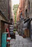 As aleias da cidade velha Tbilisi velho geórgia foto de stock royalty free