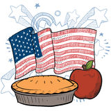 As American as Apple Pie Stock Photography