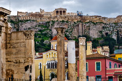 As antiguidade de Atenas Fotografia de Stock Royalty Free