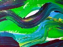 As artes bonitas da cor que pintam no fundo de papel abstraem artes da textura Imagem de Stock