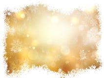 as background christmas gold illustration 10 eps Στοκ Φωτογραφίες