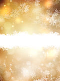 as background christmas gold illustration 10 eps Στοκ Εικόνες