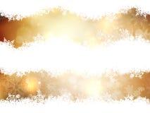 as background christmas gold illustration 10 eps Στοκ φωτογραφία με δικαίωμα ελεύθερης χρήσης
