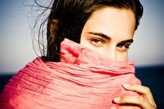 as background hidden sea woman Στοκ φωτογραφίες με δικαίωμα ελεύθερης χρήσης