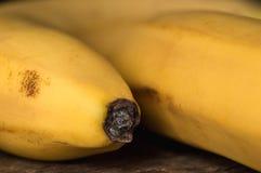 As bananas maduras fecham-se acima Foto de Stock Royalty Free