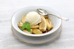 As bananas promovem, culinária americana Imagem de Stock Royalty Free