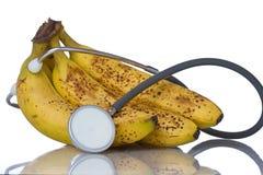 As bananas são uma fruta saudável Fotografia de Stock Royalty Free