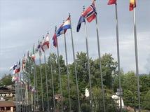 As bandeiras foto de stock royalty free
