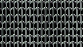As barras cinzentas textura 3d Imagem de Stock