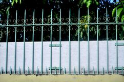 As barras das paredes da casa fotografia de stock royalty free
