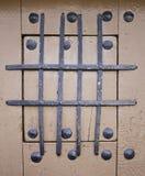 As barras pintaram a porta Imagem de Stock Royalty Free
