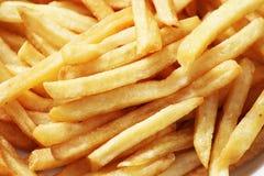 As batatas fritas fecham-se acima Foto de Stock Royalty Free