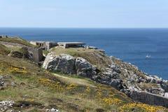 As baterias de Kerbonn em Brittany, França Imagem de Stock