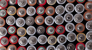 As baterias são tudo que você precisa Fotografia de Stock