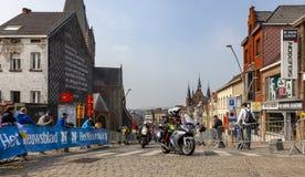 As bicicletas de Officical - excurs?o de Flanders 2019 imagem de stock royalty free