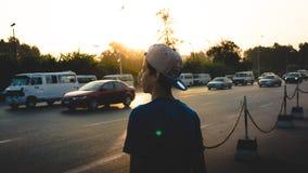 As bicicletas, os cavalos de carro e os asnos ainda são o meio de transporte de dominação em Mompos pequeno catita, onde os povos Fotos de Stock