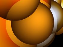 As bolas coloridas Fundo para a apresentação Papéis de parede para seu desktop Foto de Stock