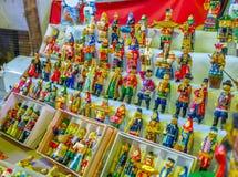 As bonecas de madeira Fotografia de Stock