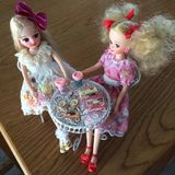 As bonecas japonesas adoráveis nomearam LICCA chan foto de stock