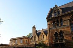 As bordas de algumas casas inglesas fotos de stock royalty free