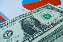 As cédulas do dólar, mudanças fracas e escarafuncham o ` formado letras que encontra-se em um branco, superfície da RENDA do ` da imagem de stock