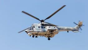 AS332C1超级美洲狮直升机 库存照片
