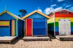 As cabanas do surfista Foto de Stock Royalty Free