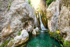 As cachoeiras de Argalar imagem de stock royalty free