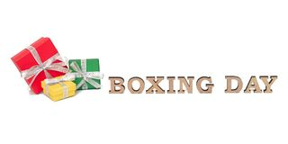 As caixas coloridas com palavras SÃO ESTÊVÃO, isolada no branco Foto de Stock Royalty Free