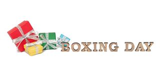 As caixas coloridas com palavras SÃO ESTÊVÃO, isolada no branco Imagens de Stock Royalty Free