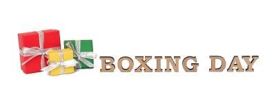 As caixas coloridas com palavras SÃO ESTÊVÃO, isolada no branco Fotografia de Stock