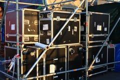 As caixas dos espetáculos fotos de stock